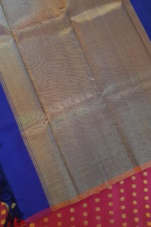 Royal blue kanchi silk dupatta 3