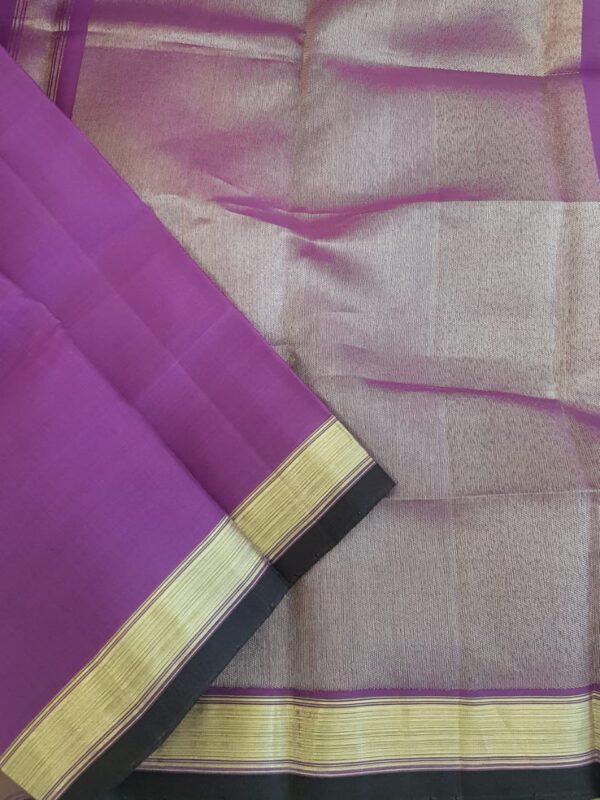 purple with silver zari dupata1