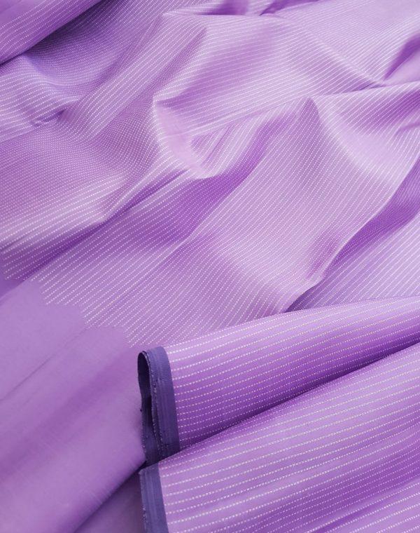 Lilac risng border silk saree1