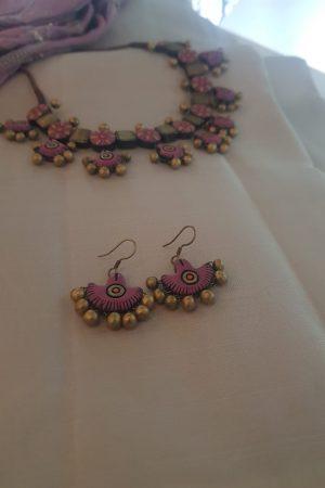 Pink terracotta set1
