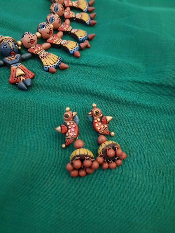 Terracotta necklace1
