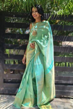 mint green with araimadam body