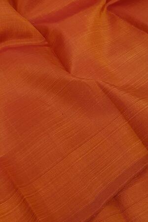 orange lavanayam kanchi silk saree1
