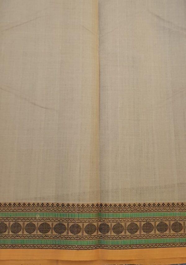 Beige kanchi cotton border4