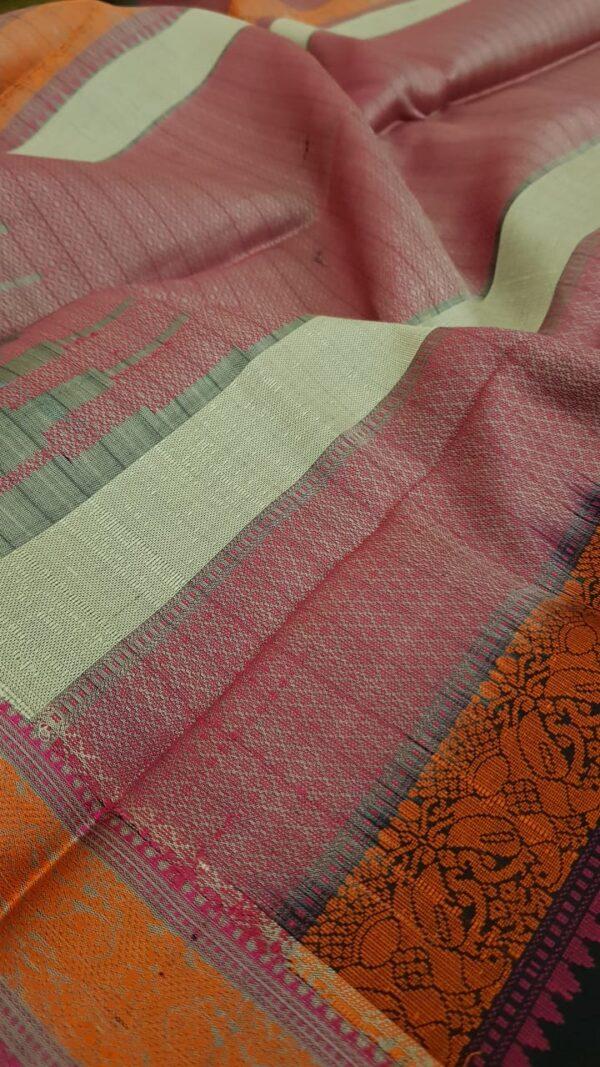 Black soft silk saree3
