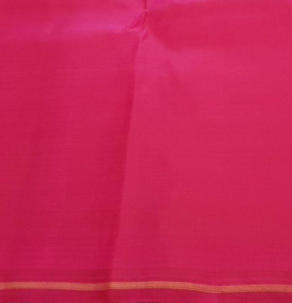 Grey and pink half half kanchipuram silk saree3