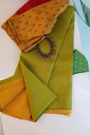 Mustard and green paymadi half and half with mustard