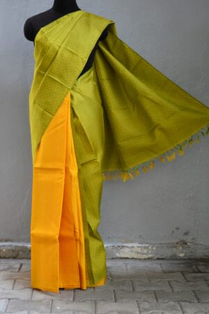 Mustard and green paymadi half and half with mustard2