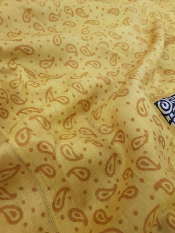 Mustard box tussar saree5