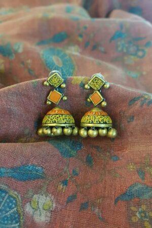 Orange and yellow terracotta jumkha1