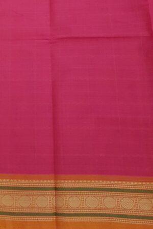 Rani pink kanchi cotton saree3