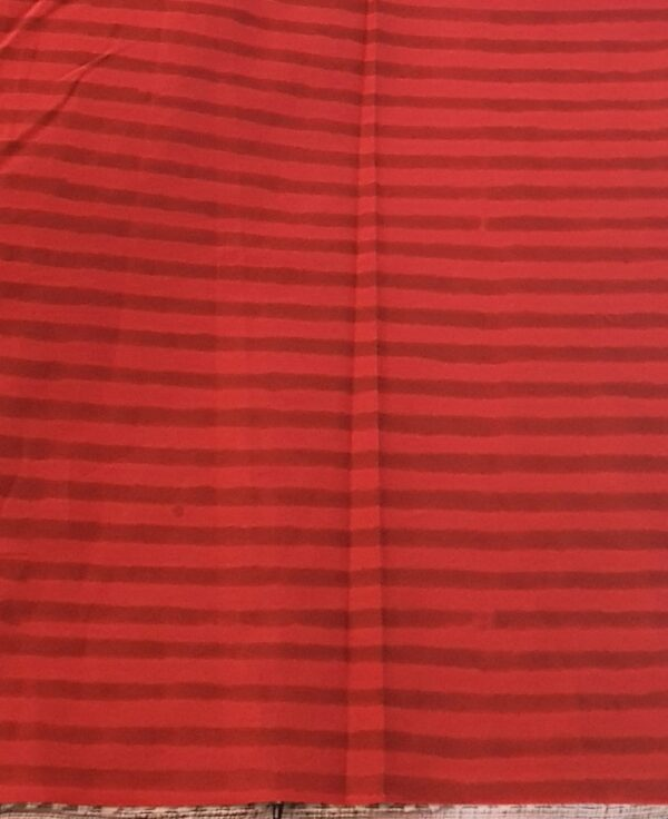 Red stripes blouse