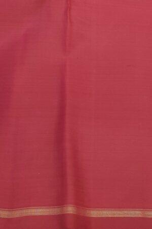 Black kanchipuram silk saree with red checks3