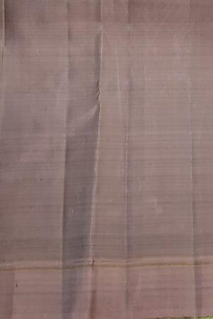 Black with mauve border kanchipuram silk saree4