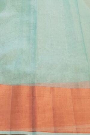 Blue zari kota saree with birds4