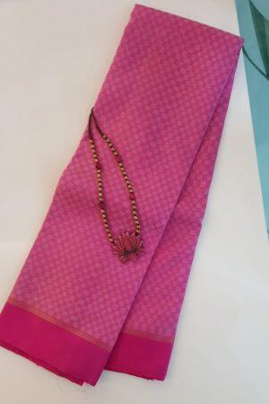 Pink payadi kanchipuram silk saree