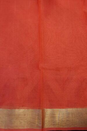 Red zari kota saree3