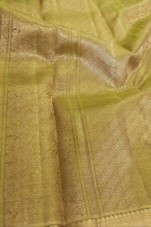 Brown vanasingaram kanchi silk saree3