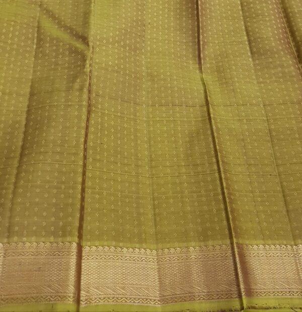 Brown vanasingaram kanchi silk saree4