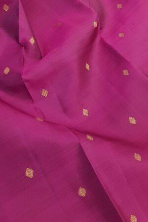 Dark pink kanchi silk saree1