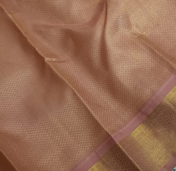 Dusty pink kanchipuram silk saree3