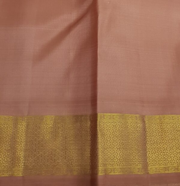 Dusty pink kanchipuram silk saree4