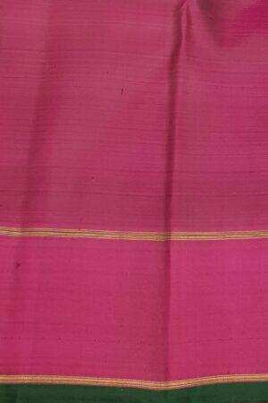 Navy blue kanchi silk saree4
