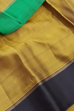 Oil mustard with green and black border1