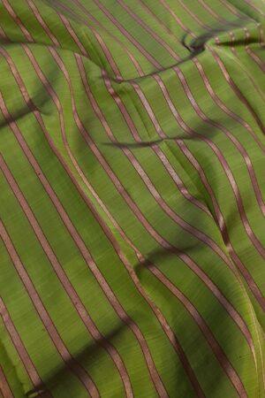 Olive green and dark pink partly pallu kanchipuram silk saree1