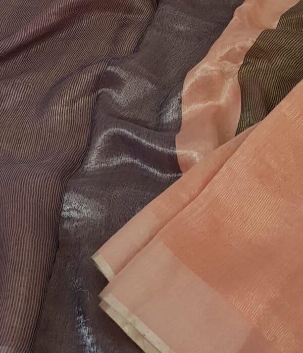 Pink soy silk saree3