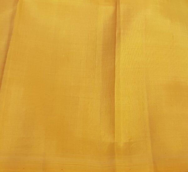 ananda blue kanchi silk saree with mustard pallu3