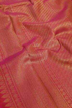 blue and black half and half kanchipuram silk saree1