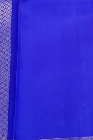 blue and orange half and half kanchipuram silk saree4