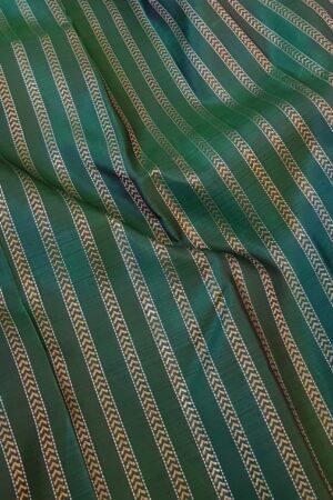 bottle green with maroon border kanchi silk saree1