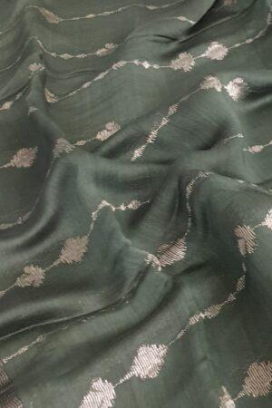 green soy silk saree2