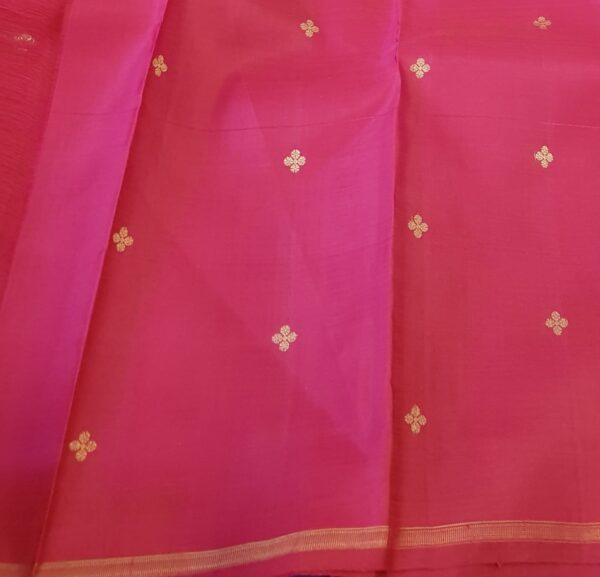 Blue with pink pallu3