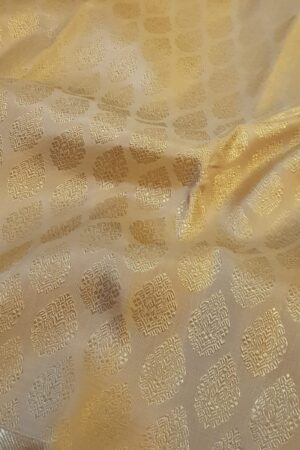 beige saree with benaras border3