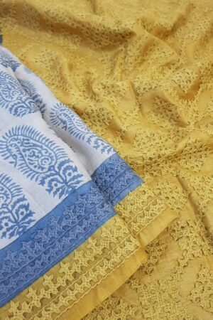 beige tussar saree with paisley and kutchwork border1