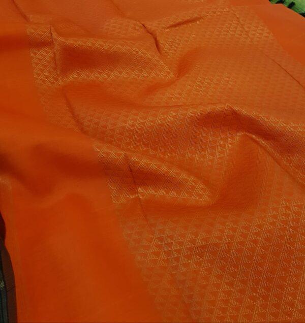 black with orange pallu1