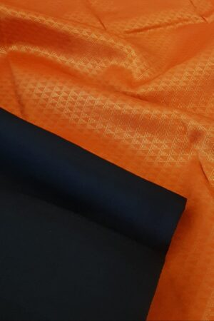 black with orange pallu2