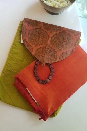 green saree pouch4