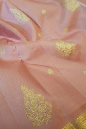 light pink kanchipuram silk saree4