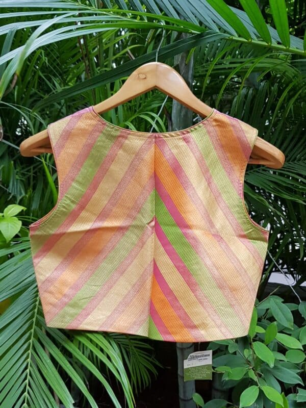multicolour strips blouse1