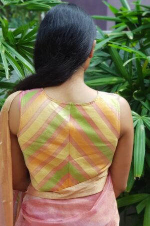 multicolour strips blouse2
