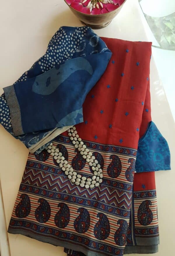 red and blue with kutch and bp