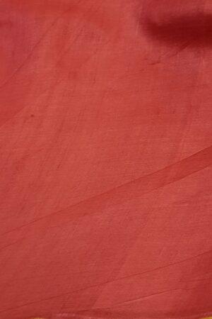 red paisley tussar saree3