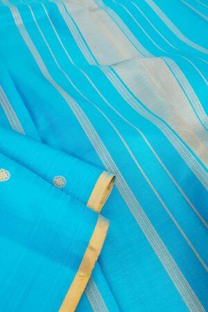 ananda blue meenakari saree2