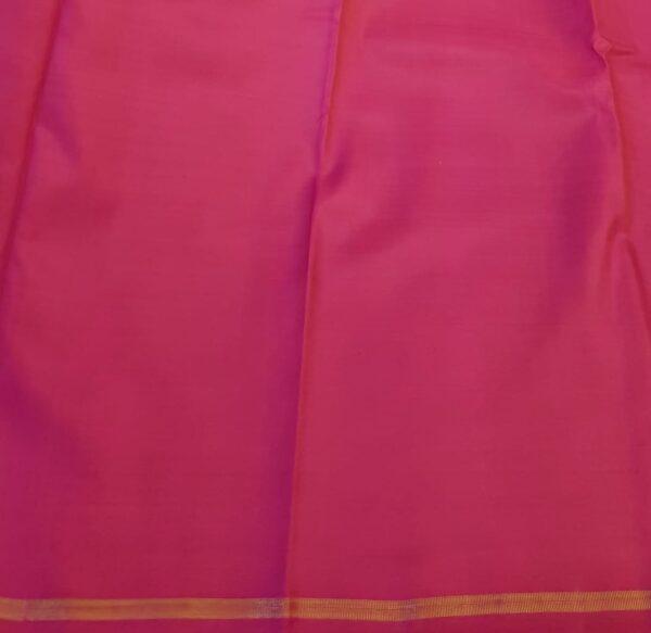 blue kanchi silk saree with buttis3