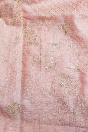 blue tussar saree with pale pink pallu3