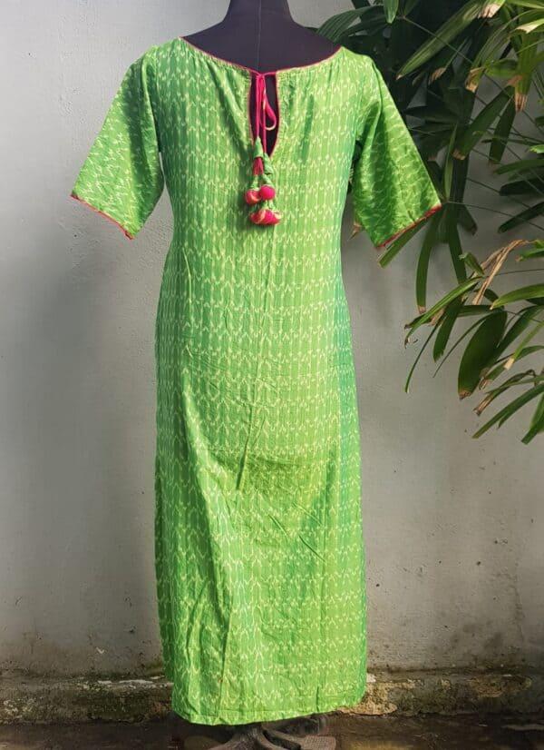 green ikat 1